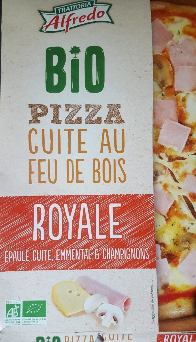 Pizza royale cuite au feu de bois - Produit - fr