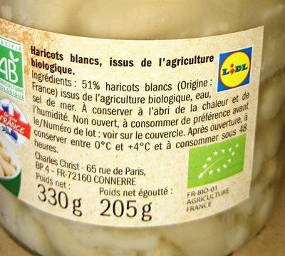 Haricots blancs - Ingrédients - fr