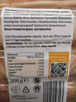 Wafer thin smoked chicken breast - Ingredients - fr