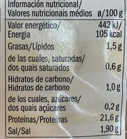 Wafer thin smoked chicken breast - Nutrition facts - fr