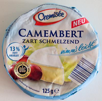 Camembert zart schmelzend - Produkt
