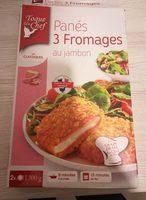 Panés 3 fromages au jambon - Produit