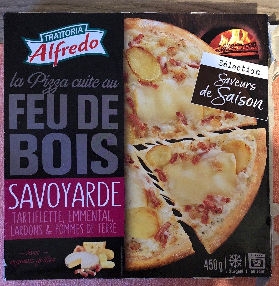 Pizza savoyarde au feu de bois - Product - fr