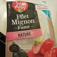 Filet mignon fumé nature - Product - fr
