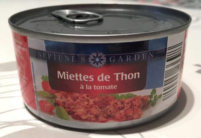 Miettes De Thon à La Tomate, - Product