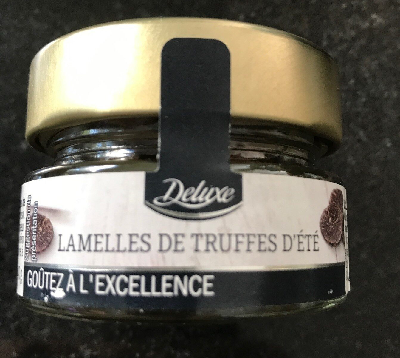 Lamellles de Truffes d'Eté - Produit - fr