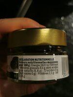 Lamellles de Truffes d'Eté - Informations nutritionnelles - fr
