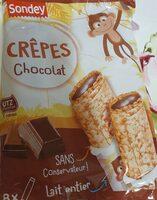 Crêpes chocolat - Product - fr