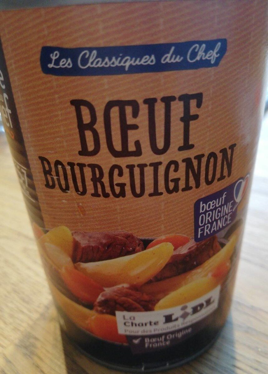 Bœuf bourguignon - Product - fr