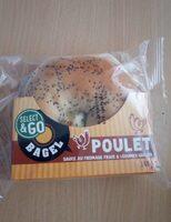 Bagel poulet - Produit - fr