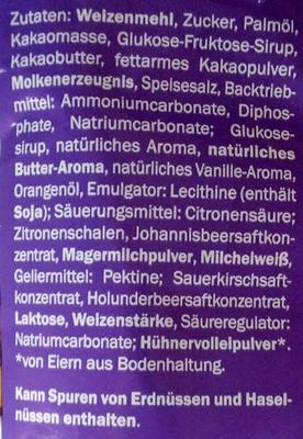 Firone Gebäckmischung - Inhaltsstoffe - de