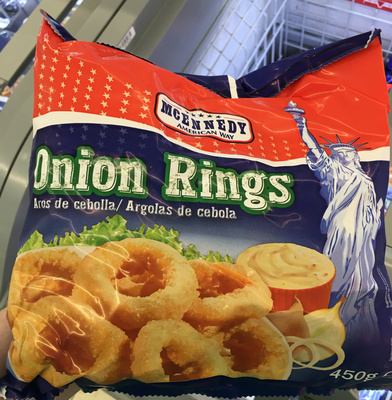 Onion Rings - Produit - fr