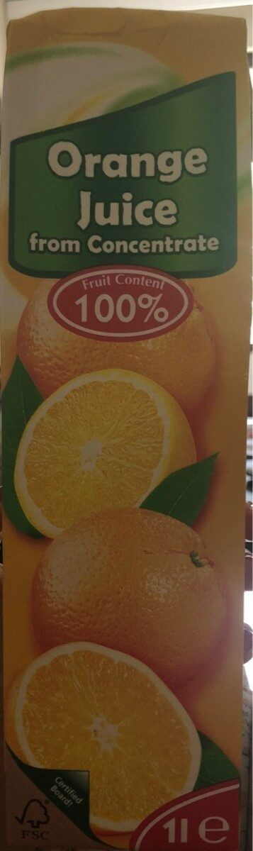 Orange juice from concentrate - Prodotto - en
