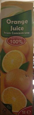 Orange juice from concentrate - Produit - fr