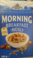 Morning breakfast musli - Продукт - bg