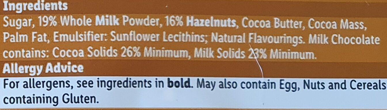 Fin Carré Whole Nut - Ingredients - en