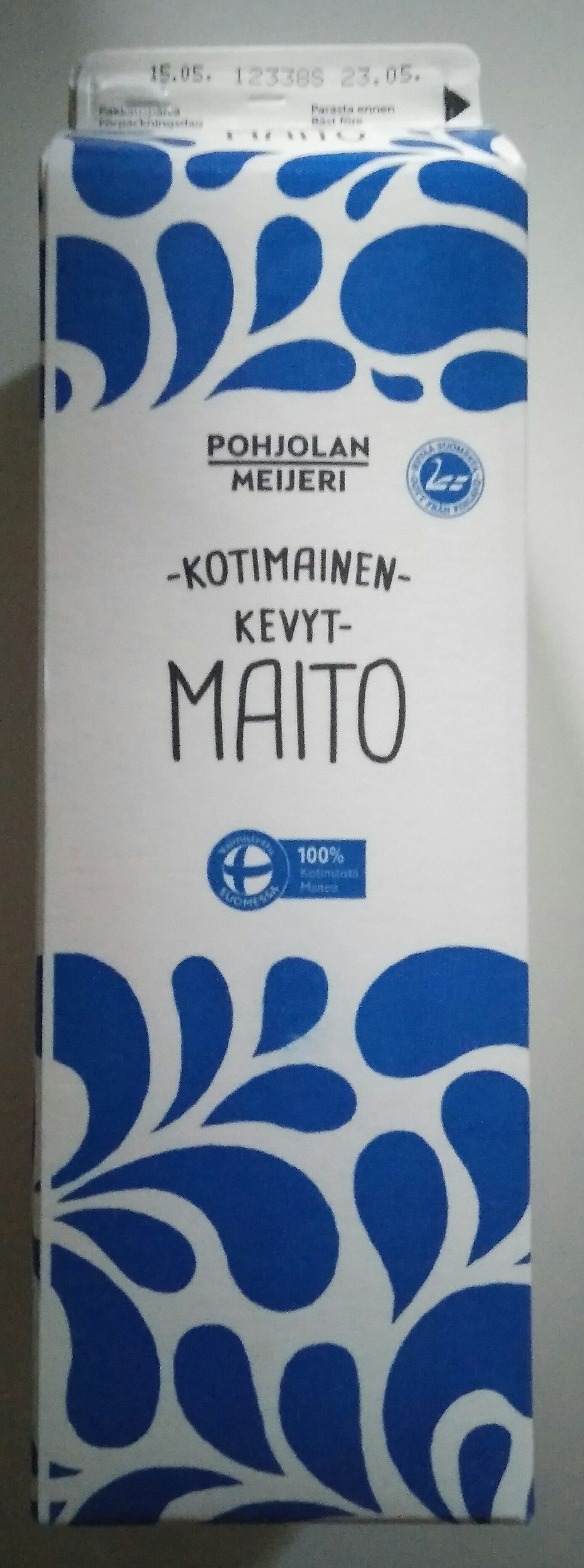 Kotimainen Kevytmaito - Product