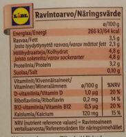 Kotimainen Täysmaito - Nutrition facts - fi