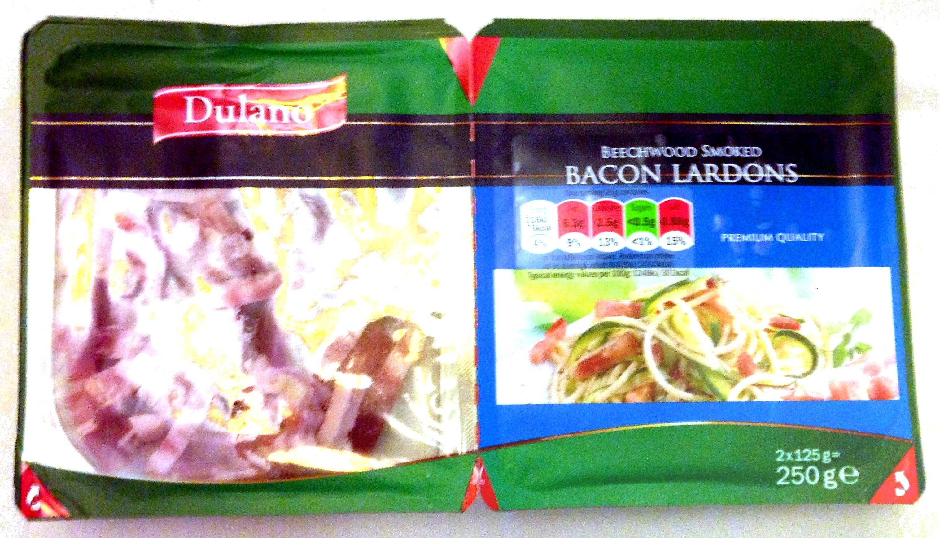 Bacon lardons - Product - en