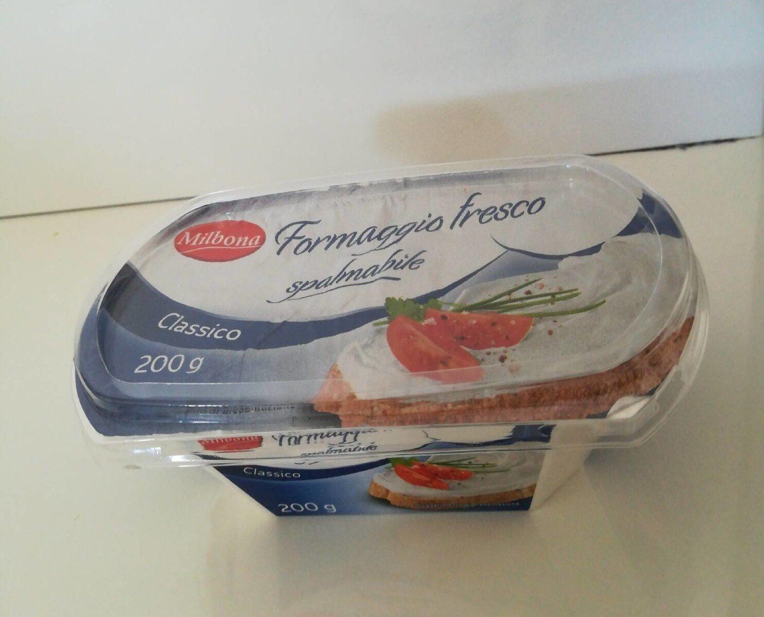 Formaggio fresco spalmabite classico - Produkt - en