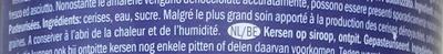 Cerises dénoyautées, sucrées - Ingrédients - fr