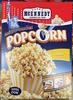 Popcorn Micro-ondes nature - Produit