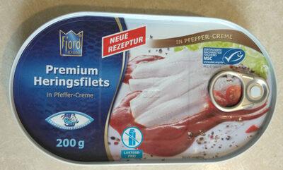 Premium Heringsfilets in Pfeffer-Creme - Product