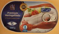 Premium Heringsfilets in Tomaten-Cocktail-Creme - Produkt - de