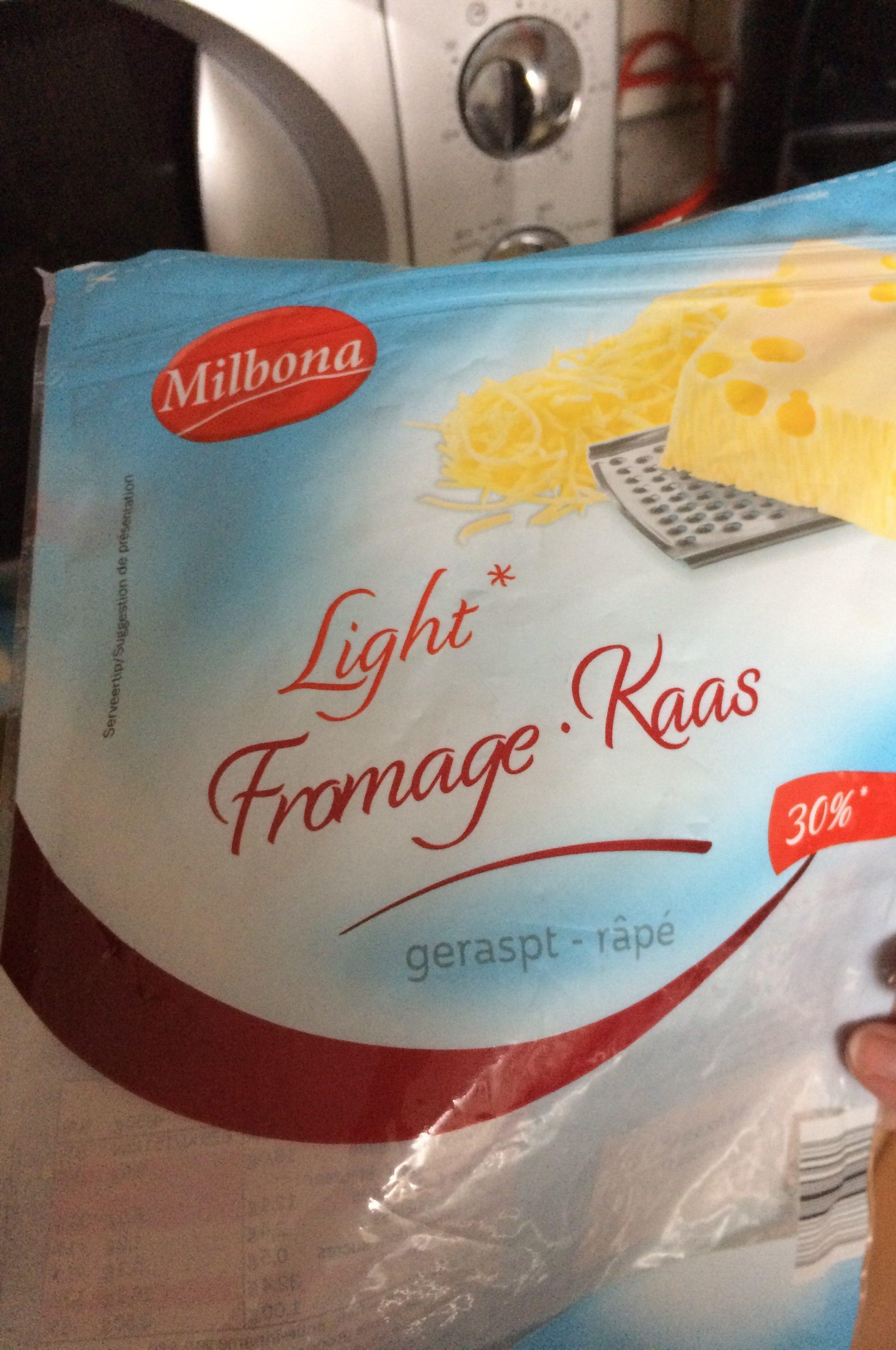 Fromage light - Ingredientes