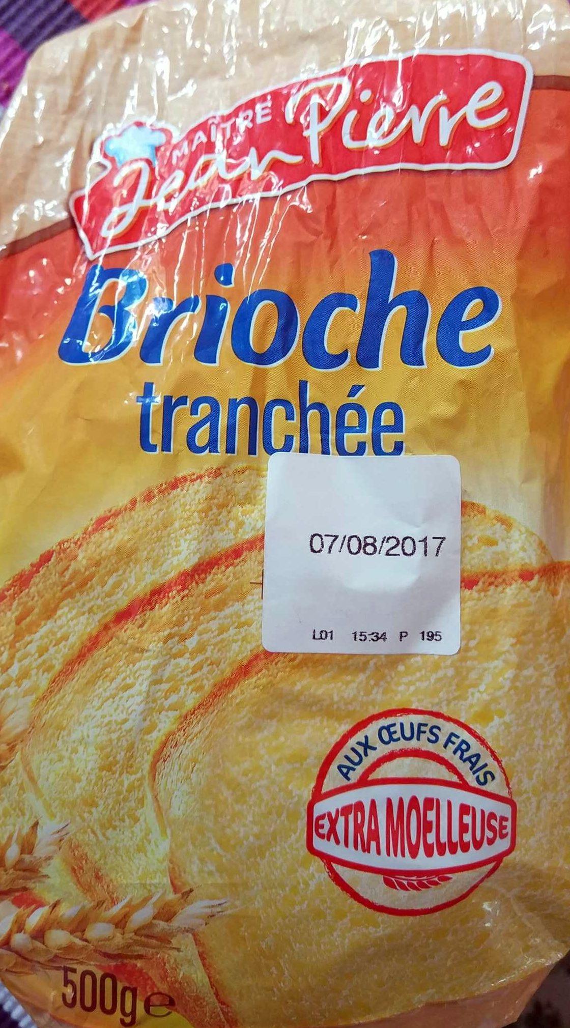 Brioche Pur beurre-Aux oeufs-Tranchée - Produit - fr