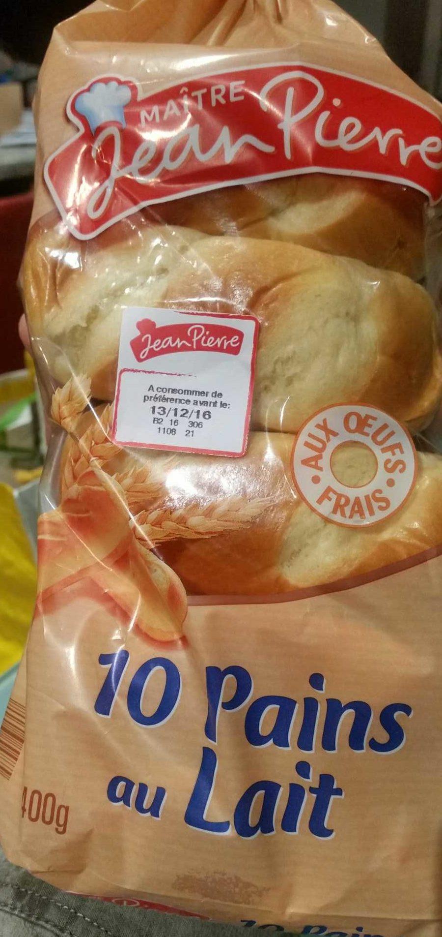 10 pains au lait - Produit