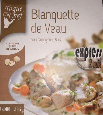 Blanquette de Veau aux champignons et riz - Product