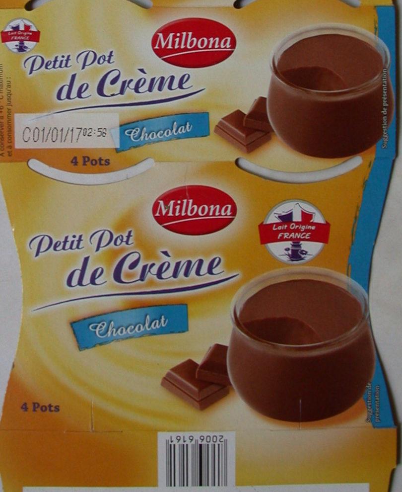 petits pots de cr 232 me au chocolat kingfrais 4 100 g