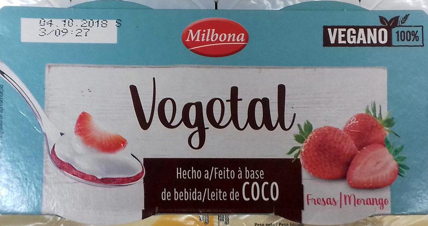 Dessert a base de lait de coco - Producte