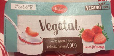 Dessert a base de lait de coco - Producte - es