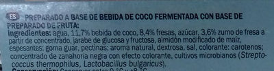 Dessert a base de lait de coco - Ingredients