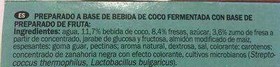Dessert a base de lait de coco - Ingrédients - fr