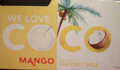 Coco mango - Produit