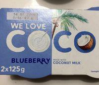 Coco vegetal arándanos - Produit - fr