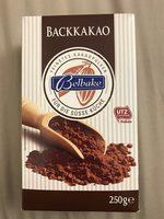 Cacao en poudre - Produkt