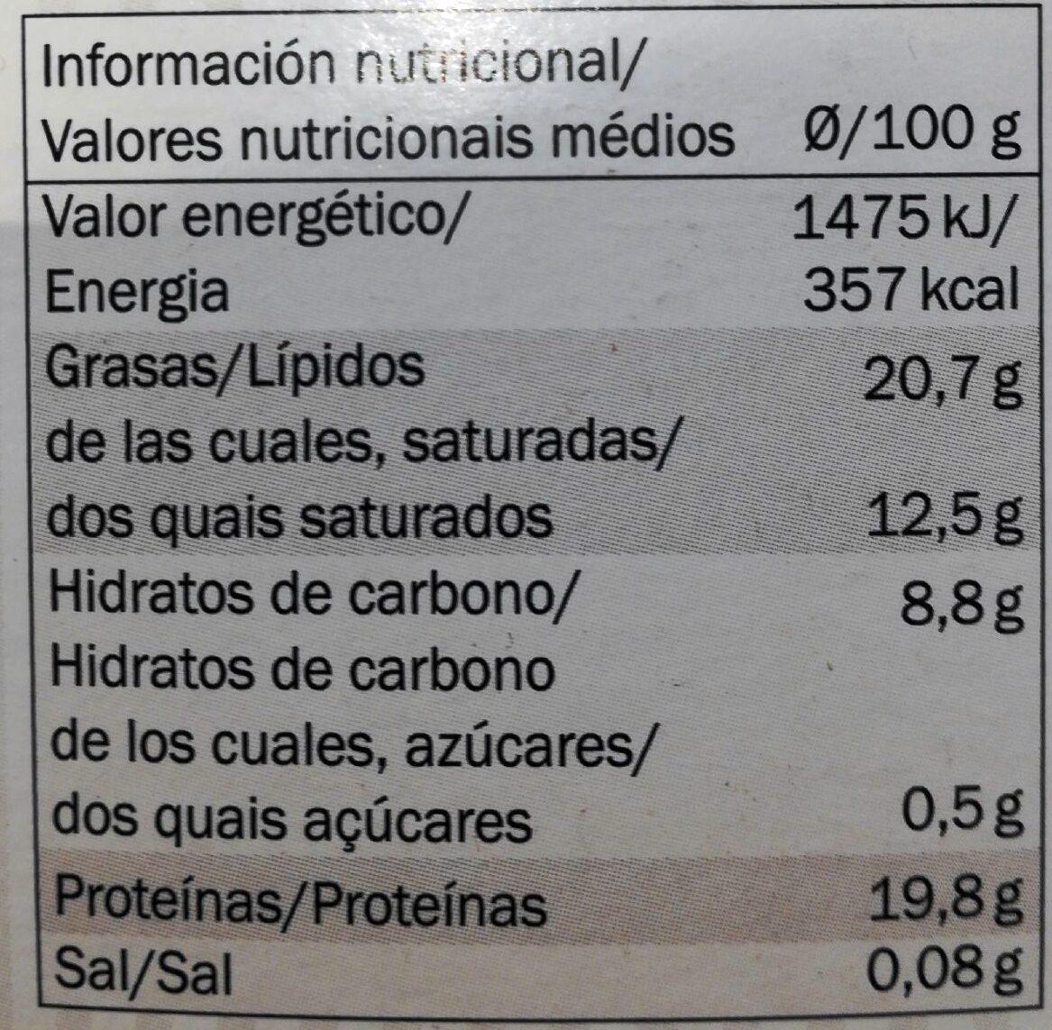 Cacao en poudre - Nährwertangaben - fr