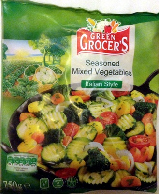 Seasoned mixed vegetables - Italian style - Product