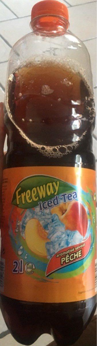Iced Tea aromatisé saveur Pêche - Product