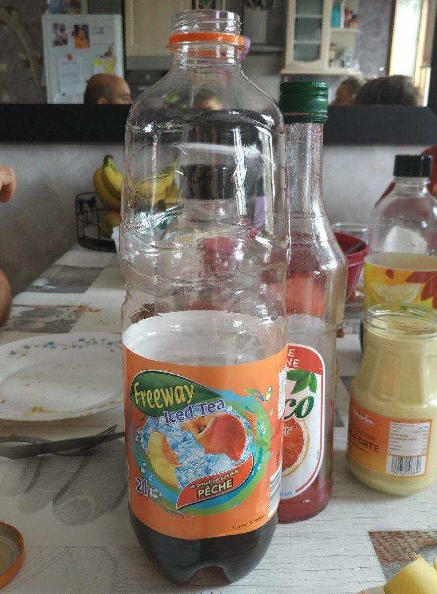 Iced Tea aromatisé saveur Pêche - Product - fr