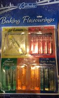 Baking flavourings - Informations nutritionnelles - fr