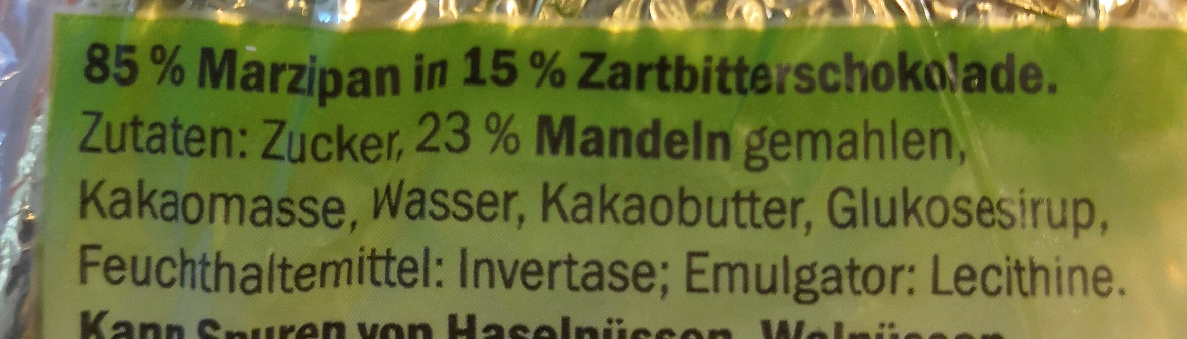 Marzipan-Ei - Ingredients - de