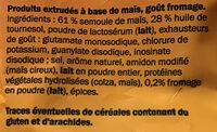 Flips fromage - Zutaten - fr