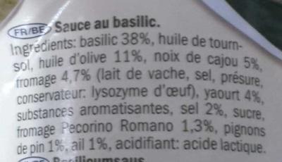 Pesto allá genovese - Ingredienti