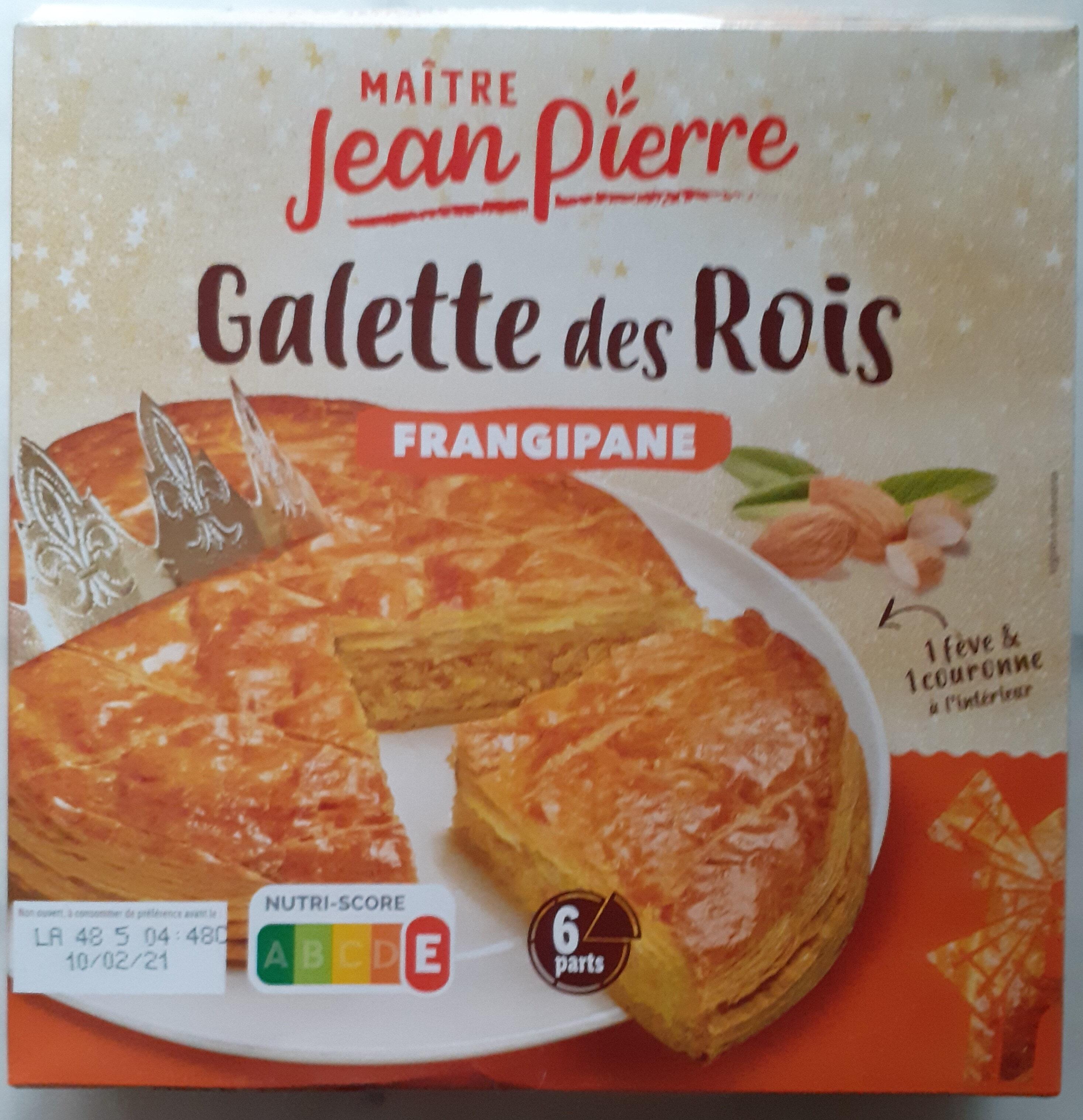 Galette des rois à la frangipane - Produit - fr