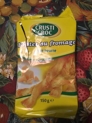 Flûtes au fromage - Produit